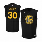 Golden State Warriors Basketball Trøjer 2015-16 Stephen Curry 30# Alternate..
